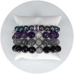 Purple Pearls Armparty - Oriana Lamarca LLC