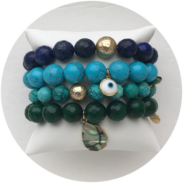 Deep Blue Sea Armparty - Oriana Lamarca LLC