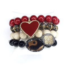 Roxy Red Armparty - Oriana Lamarca LLC