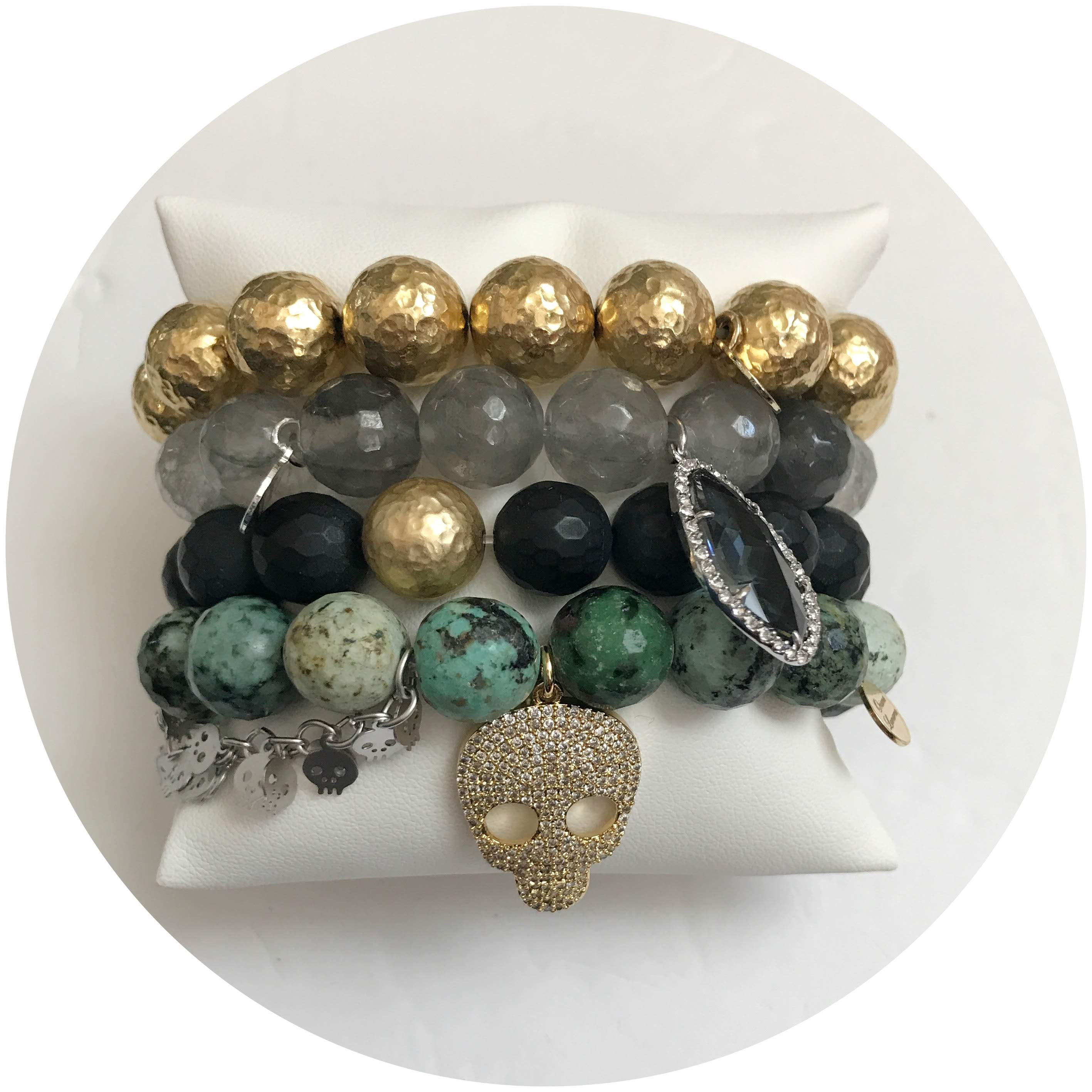 Gold Grunge Armparty - Oriana Lamarca LLC