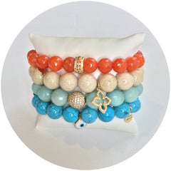Creamsicle Armparty - Oriana Lamarca LLC