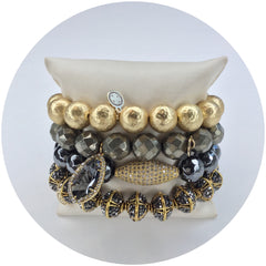 Magical Metallics Armparty - Oriana Lamarca LLC