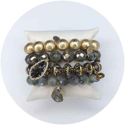 Satin Sheen Armparty - Oriana Lamarca LLC