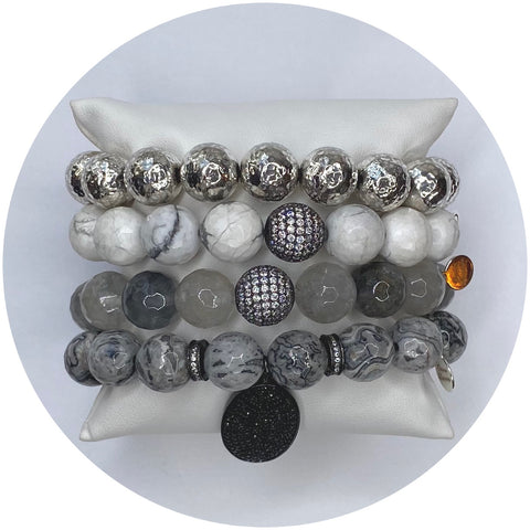 Fifty Shades of Grey Gemstones Arm Party