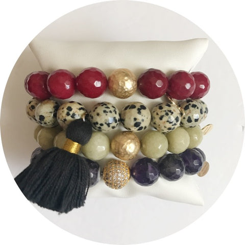 Spotted Tassel Armparty