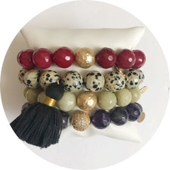 Spotted Tassel Armparty - Oriana Lamarca LLC