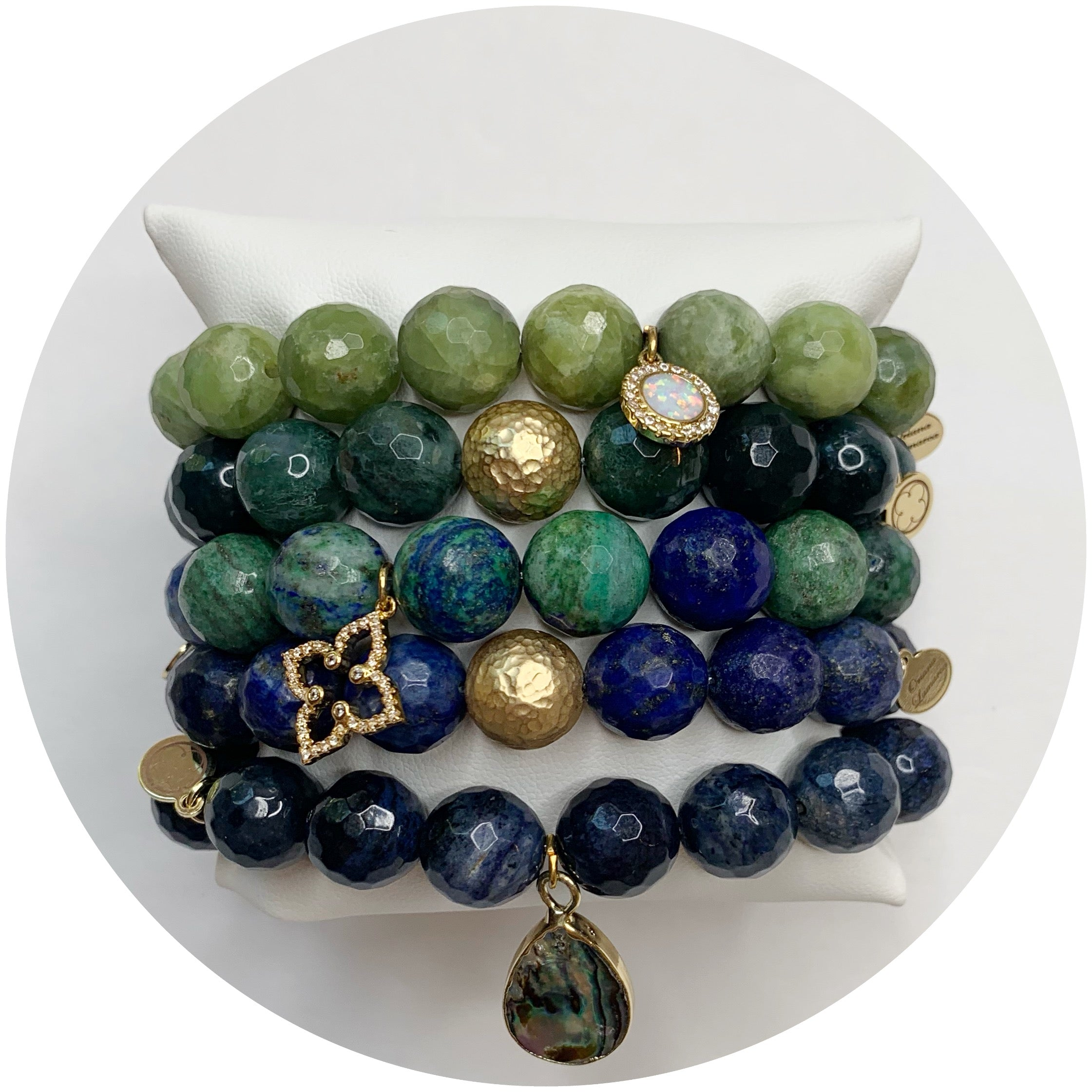 Evening Blue Armparty - Oriana Lamarca LLC