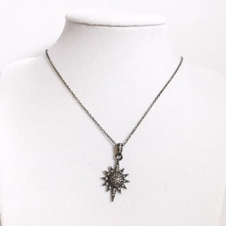 Pavè Starburst Necklace - Oriana Lamarca LLC