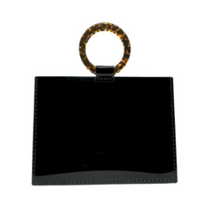Black Square Acrylic Bag