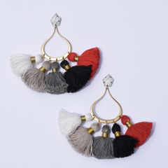 New York Chic Tassel Earrings - Oriana Lamarca LLC