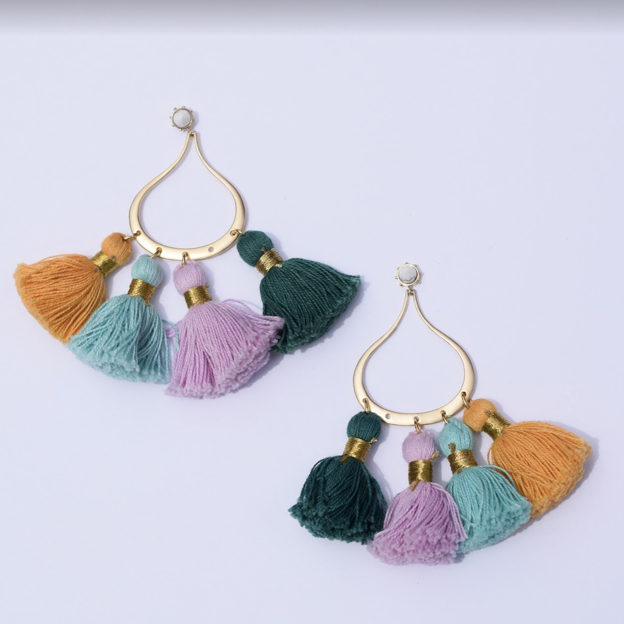 LA Chic Tassel Earrings - Oriana Lamarca LLC