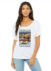 """Everything You See I Owe To Spaghetti"" T-Shirt - Oriana Lamarca LLC"