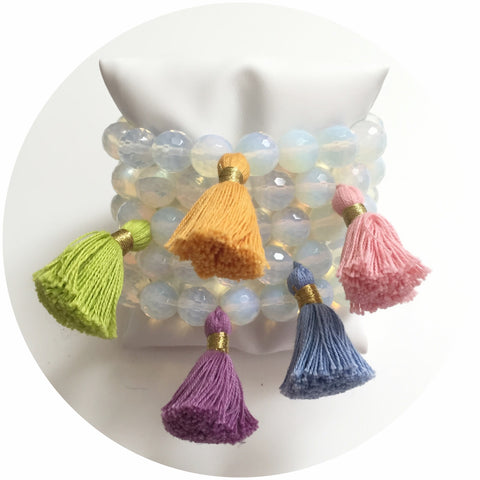 Opalite Tassels Color Stax