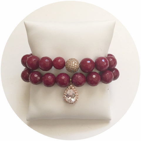 Marsala Jade Color Stax