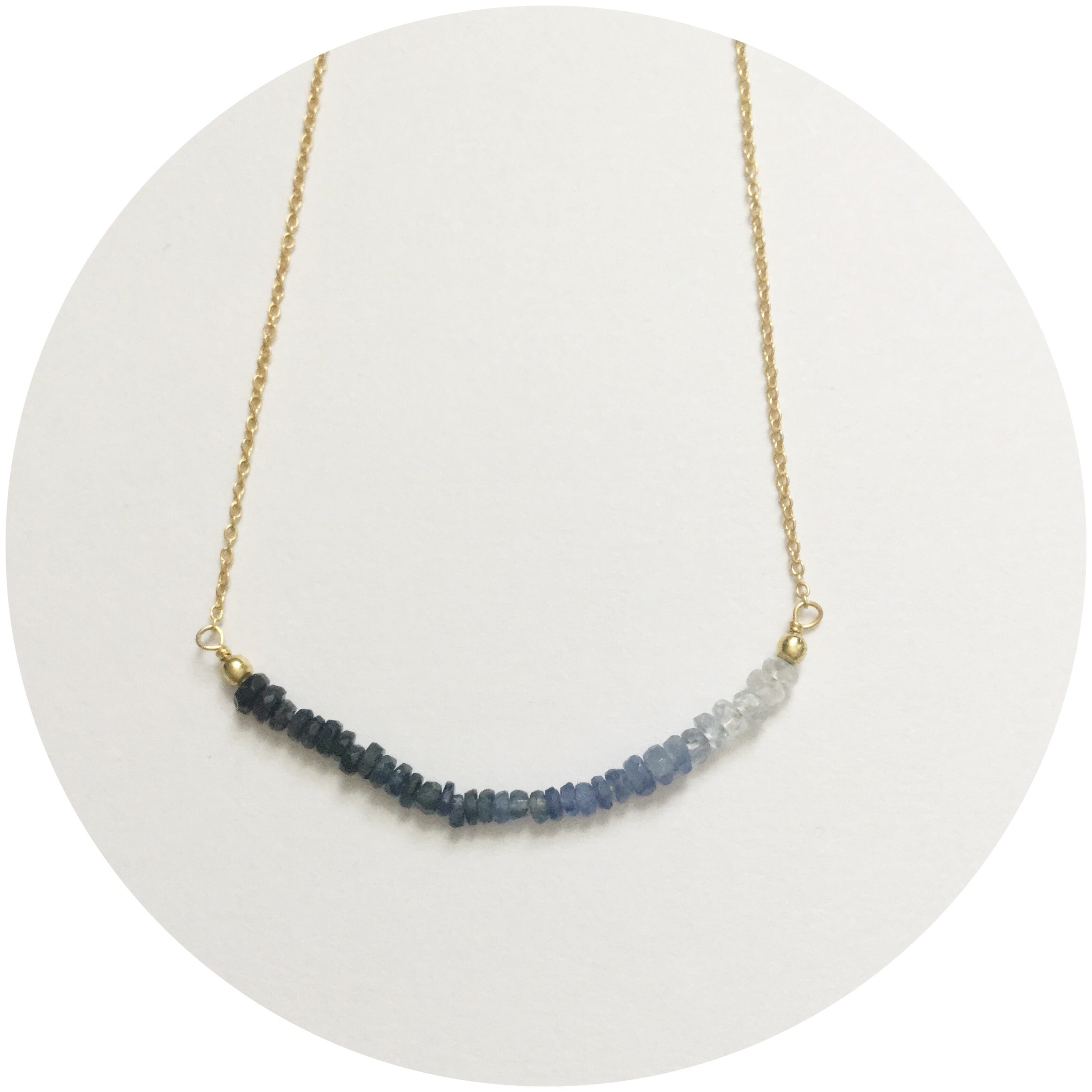 Rock Candy Lapis Necklace