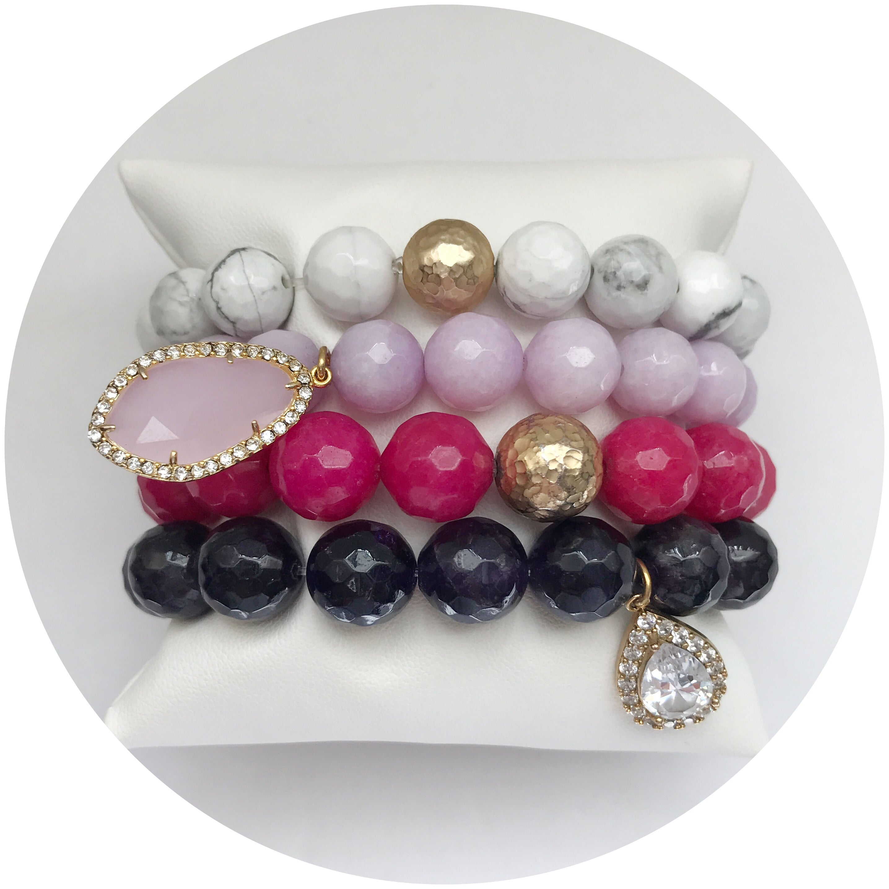 Berry Bliss Armparty - Oriana Lamarca LLC