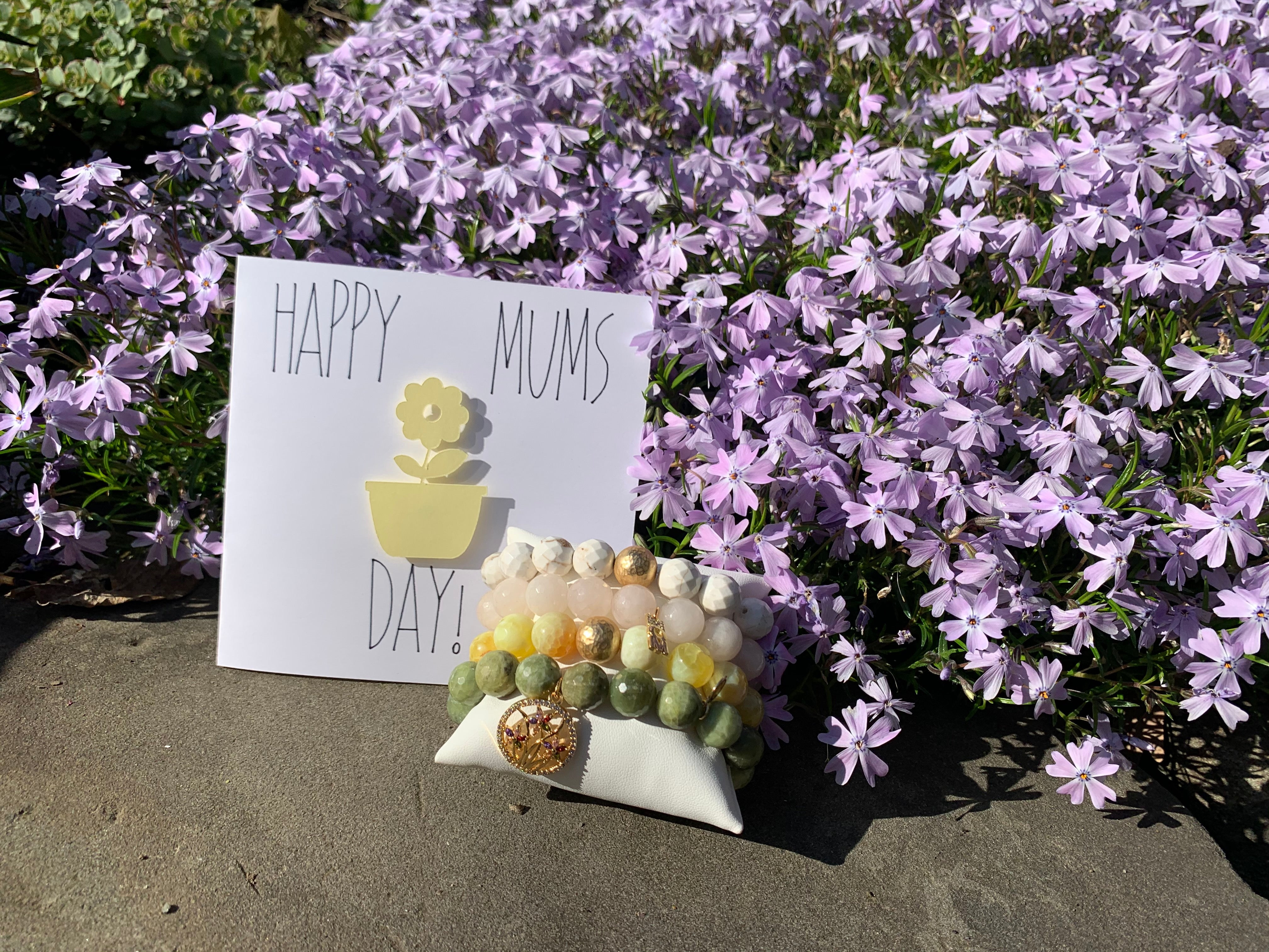 Happy Mums Day Arm Party - Oriana Lamarca LLC
