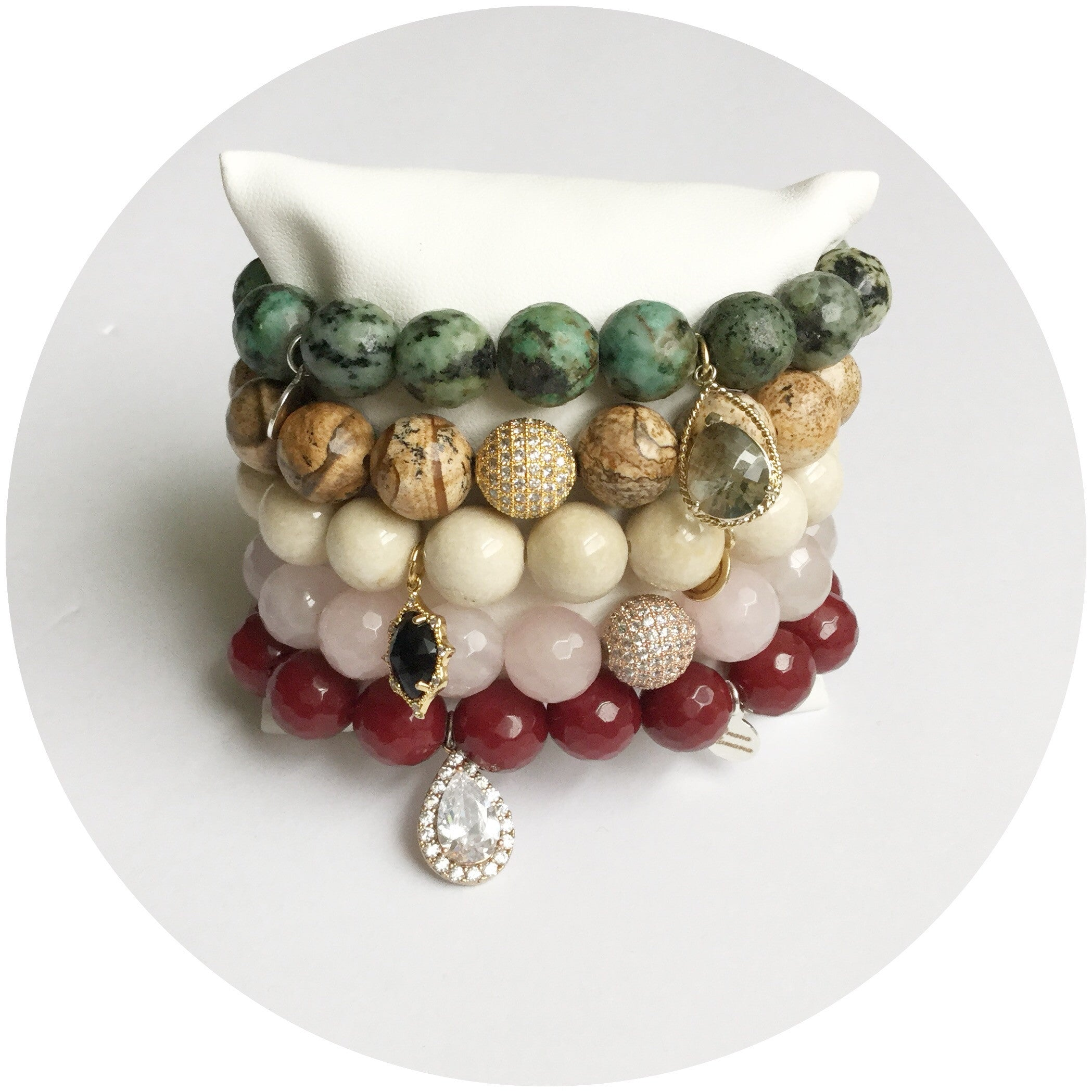 Cranberry Leaf Armparty