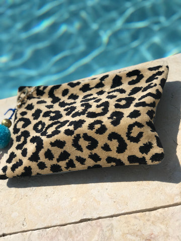 Leopard Towel Bag