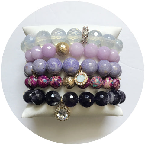 Purple Ombre Armparty