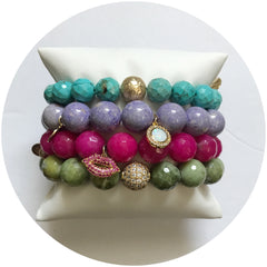 Colorful Kiss Armparty - Oriana Lamarca LLC