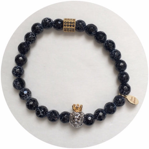 "Nate B. ""Heart of a Lion"" Mens Arm Party"