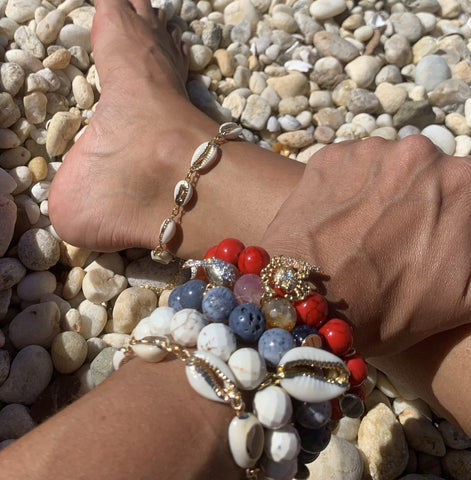 Cowrie Shell Anklet Ankle Bracelet