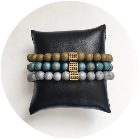 "Nate B. Mens ""Oro"" Armparty"