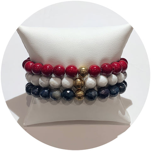 Mens New England Patriots Armparty