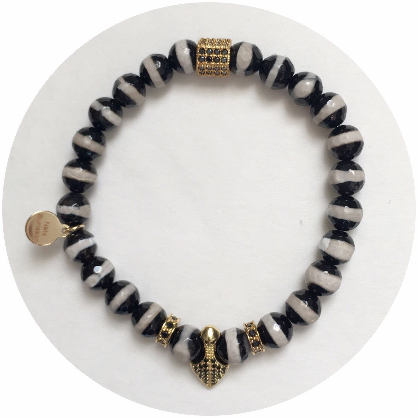 "Nate B. Mens ""Lion Blood""Arm Party"