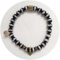 "Nate B. Mens ""Lion Blood""Arm Party - Oriana Lamarca LLC"
