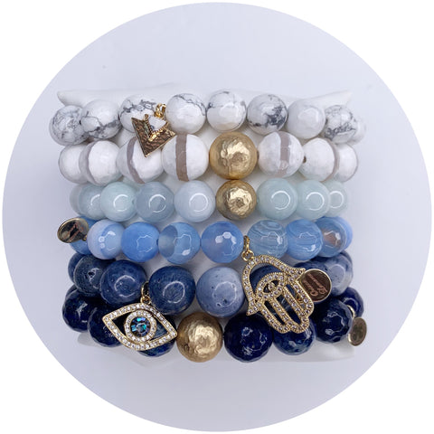 Greek Chic Arm Party