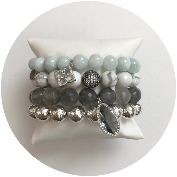 Pretty Icy Arm Party