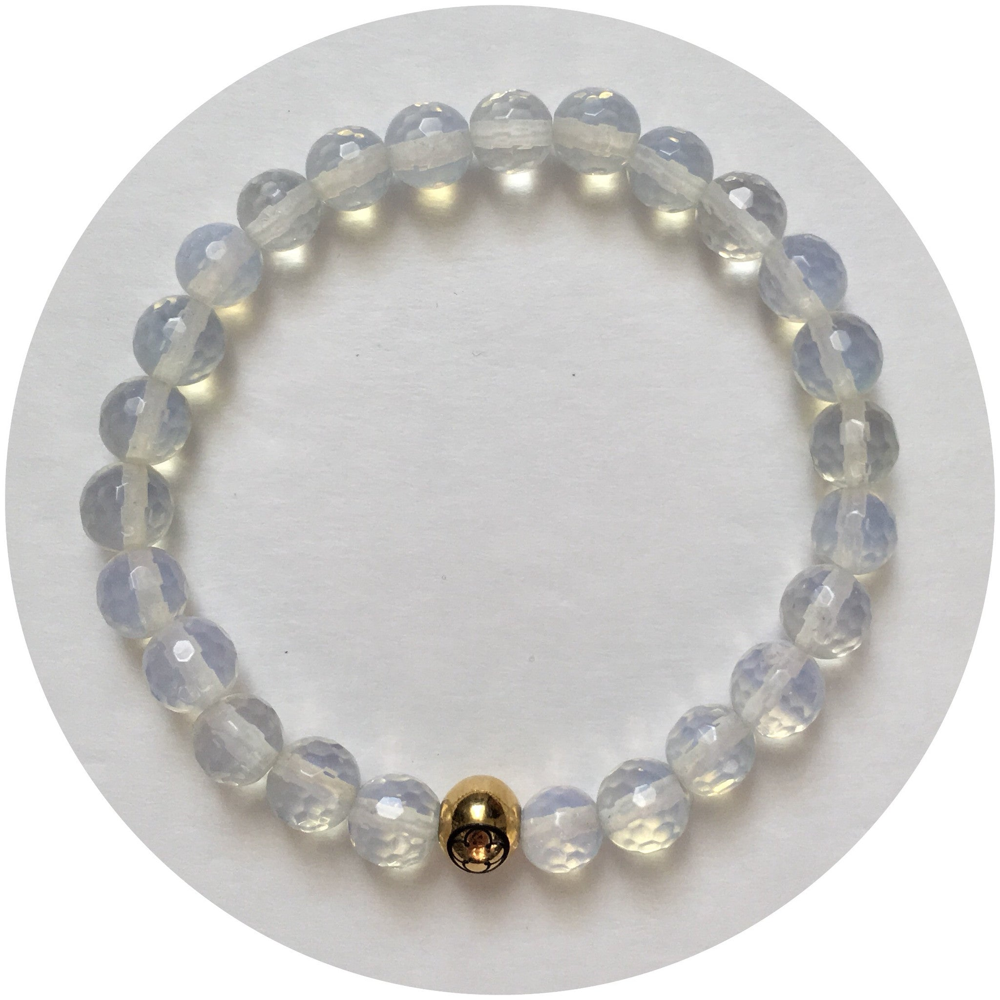 Mens Opalite with Gold Accent - Oriana Lamarca LLC