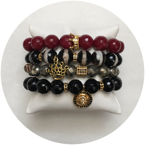 "Nate B. ""Lion Blood""Arm Party"