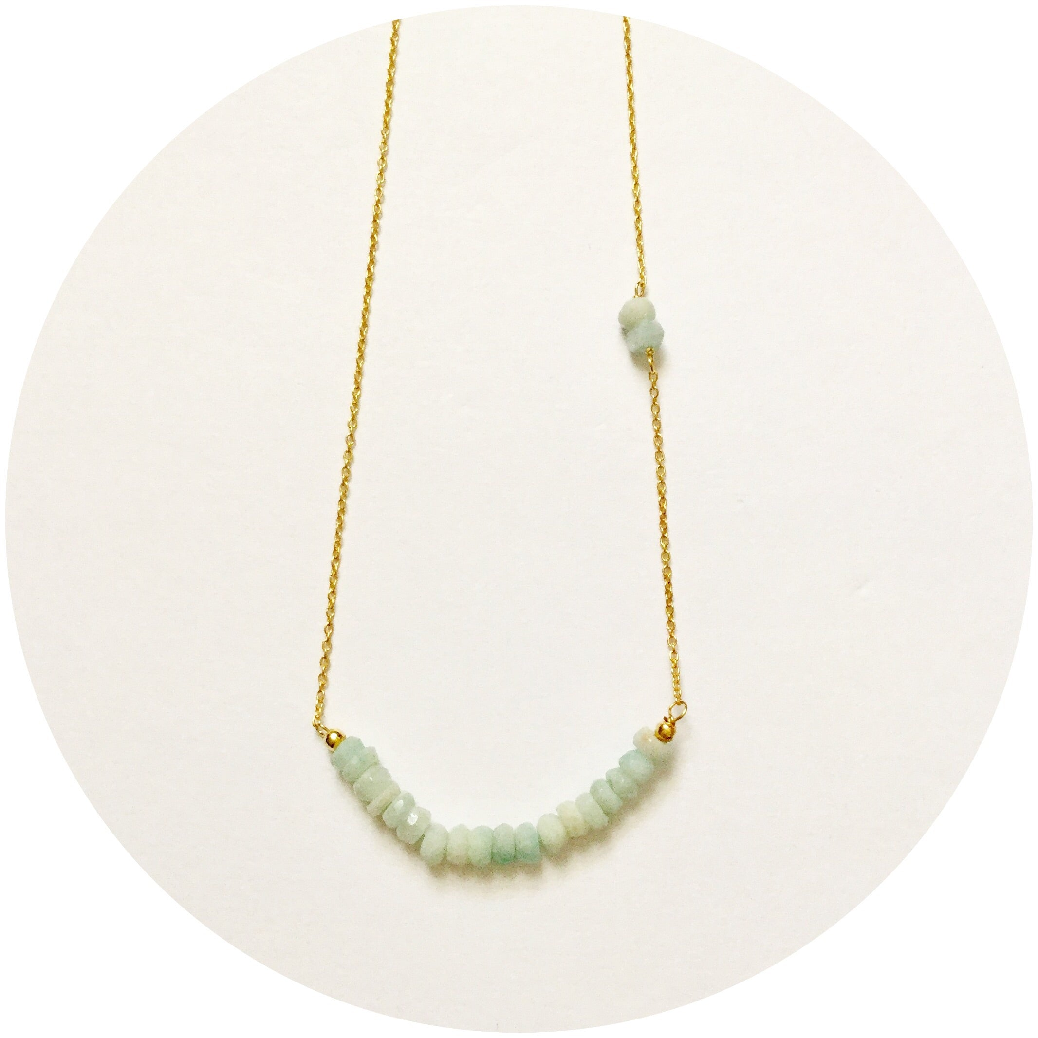 Rock Candy Amazonite Necklace