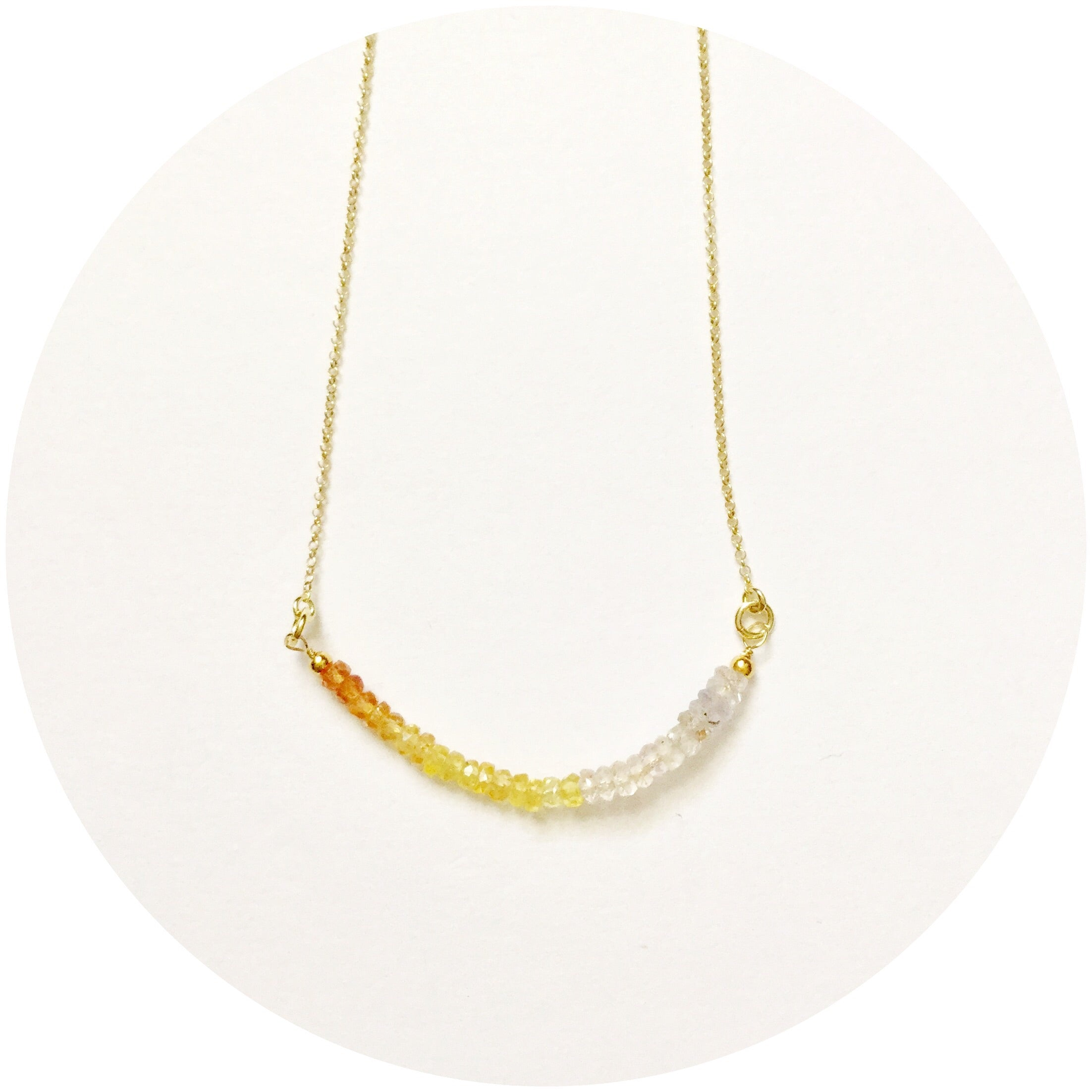 Rock Candy Citrine Necklace