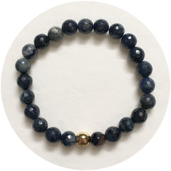 Mens Neptune Jasper with Gold Accent - Oriana Lamarca LLC