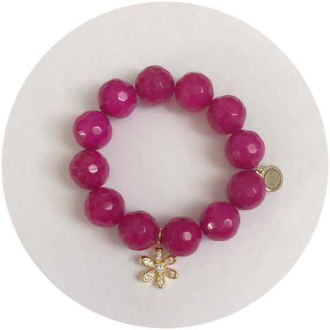 "Children's ""Flower Power"" Magenta Jade"