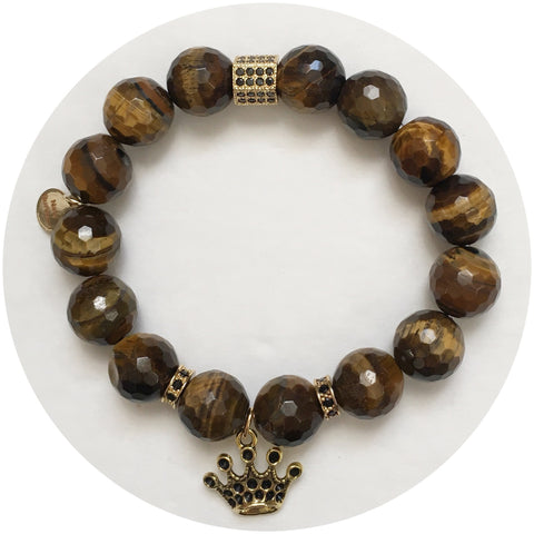 Nate B. Tiger Eye With Royal Highness Crown