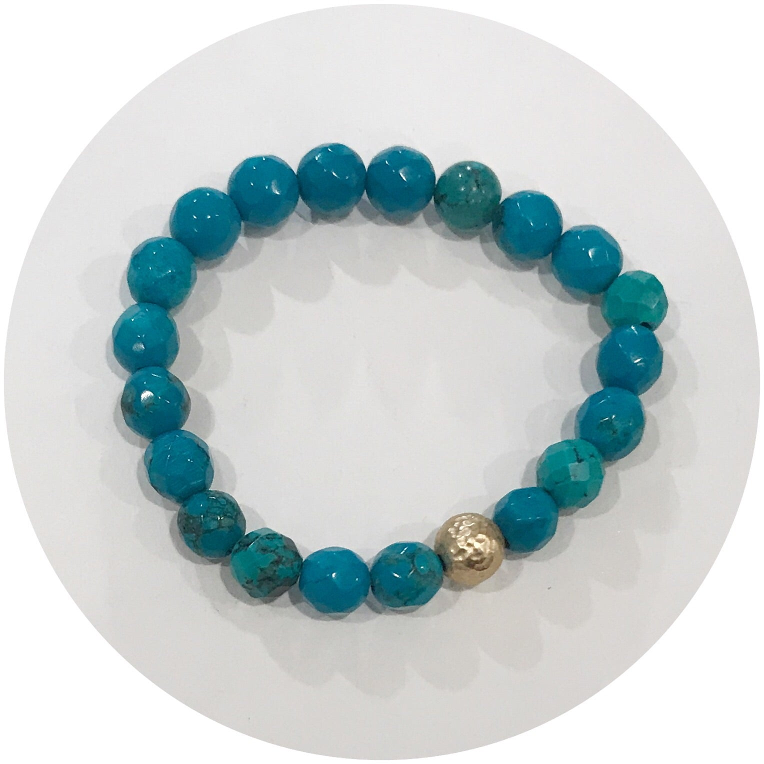 Mini Green Turquoise with Gold Accent *For NewBorns*