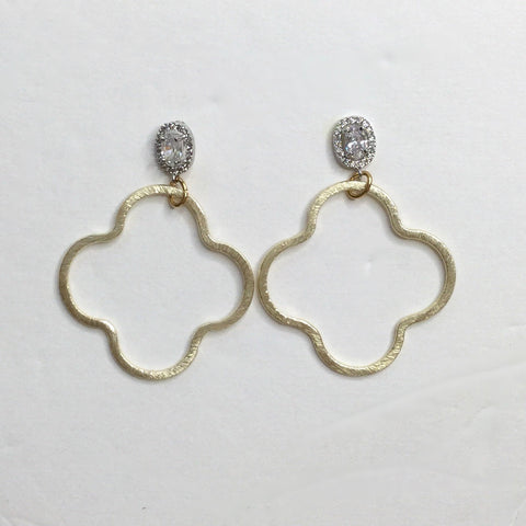 Josephina Gold Drop Earring