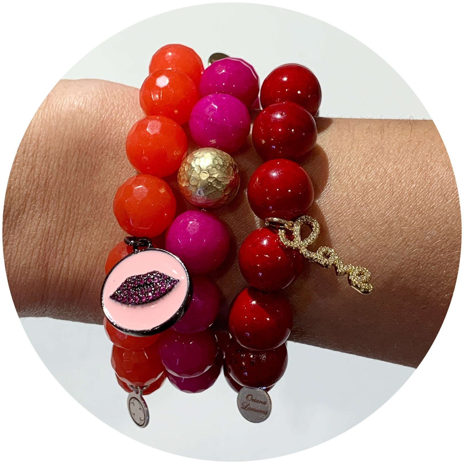 """Berry Sexy"" Armparty - Oriana Lamarca LLC"