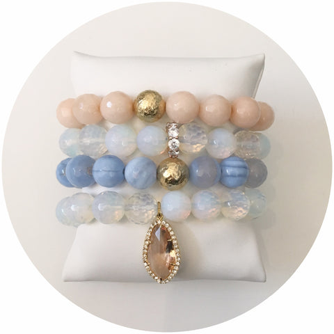 Serenity Blue Agate Armparty #1