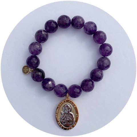 Amethyst with St. Jude