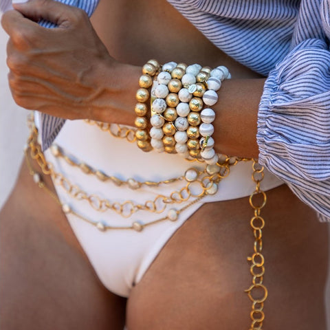 Freshwater Pearl Gemstone Belt