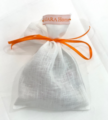 Orange Jade with Handpainted Orange Wine Glass Marker & Napkin Ring - Oriana Lamarca LLC