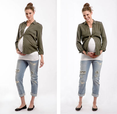 6 Simple Steps to Wearing Non Maternity Clothes During Pregnancy