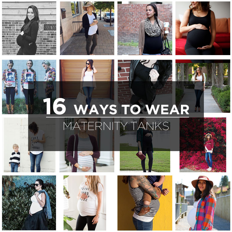 16-ways-to-wear-maternity-tanks