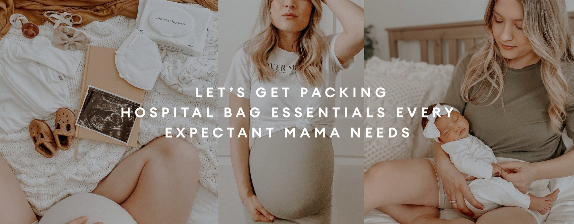 Let's get packing hospital Bag Essentials Every Expectant Mama needs